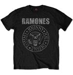 Ramones Men's Tee: Distressed Presidential Seal