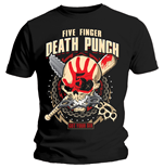 Five Finger Death Punch Men's Tee: Zombie Kill