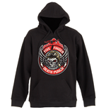 Five Finger Death Punch Men's Pullover Hoodie: Bomber Patch