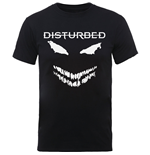 Disturbed Men's Tee: Scary Face Candle