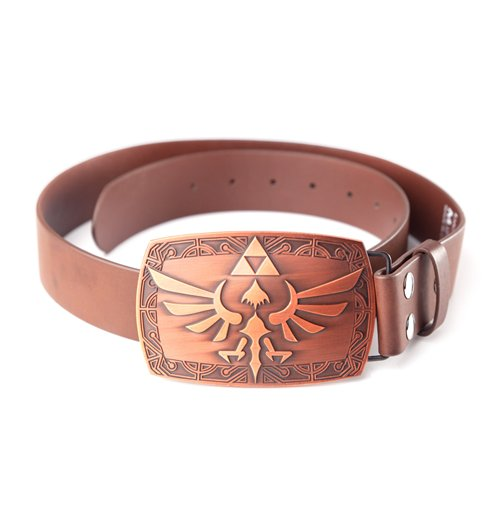 The Legend of Zelda Belt  - Zelda Brown Patina