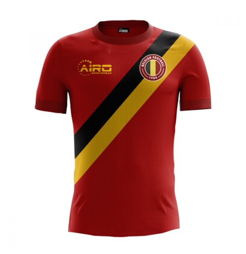 2018-2019 Belgium Home Concept Football Shirt (Kids)