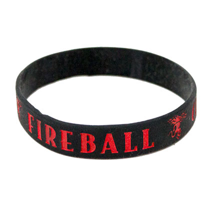 FIREBALL WHISKEY Rubber Bracelet