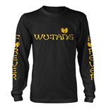 WU-TANG Clan Long Sleeves T-shirt Logo