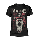 Wednesday 13 T-shirt Spider Shovel