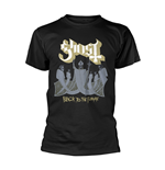 Ghost T-shirt Black To The Future