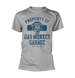 Gas Monkey Garage T-shirt Property Of Gmg Dallas