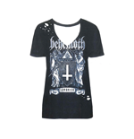 Behemoth T-shirt Satanist (acid WASH)