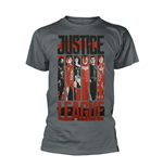Dc Comics Justice League T-shirt Striped Characters