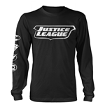 Dc Comics Justice League Long Sleeves T-shirt Justice League Icons