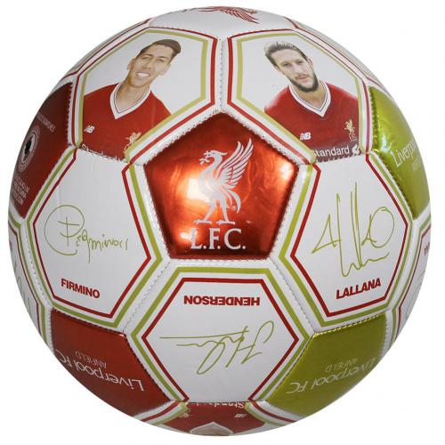 Liverpool F.C. Photo Signature Football