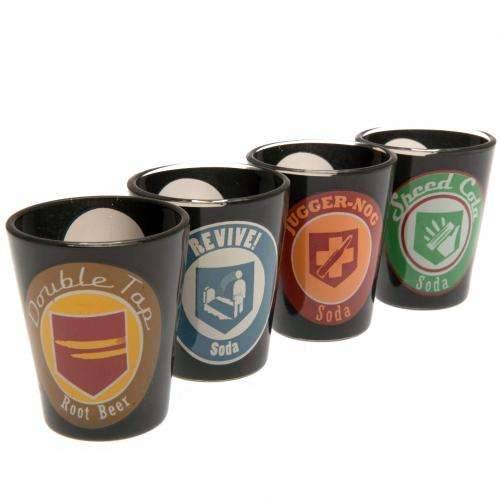 Call Of Duty 4pk Premium Shot Glass Set