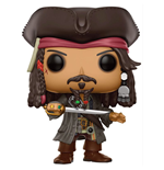 Pirates of the Caribbean Dead Men Tell No Tales POP! Movies Vinyl Figure Jack Sparrow 9 cm