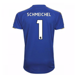 2017-18 Leicester City Home Shirt (Schmeichel 1) - Kids