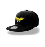 Wonder Woman - Logo - Cap Black