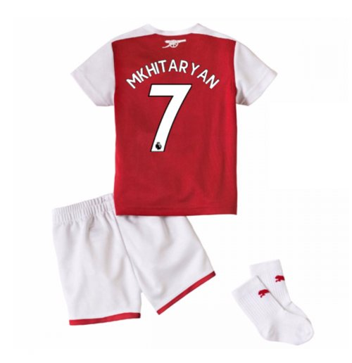new concept 3abc1 cf19a 2017-18 Arsenal Home Baby Kit (Mkhitaryan 7)