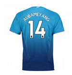 2017-2018 Arsenal Away Shirt (Aubameyang 14) - Kids