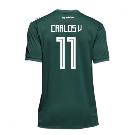 2018-19 Mexico Home Shirt (Carlos V 11)