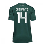 2018-19 Mexico Home Shirt (Chicharito 14) - Kids