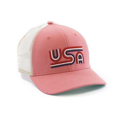Rowdy Gentleman Mesh USA Trucker Hat