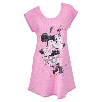 Minnie Mouse Women's Pink Night Shirt