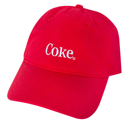 COCA-COLA Red Coke Dad Hat