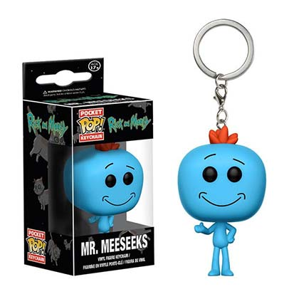 Funko Pop Rick And Morty Mr. Meeseeks Keychain