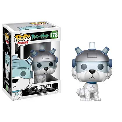 Rick And Morty Funko Pop Snowball Vinyl Figure