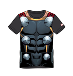 MARVEL COMICS Thor Men's Suit Sublimation T-Shirt, Medium, Multi-colour