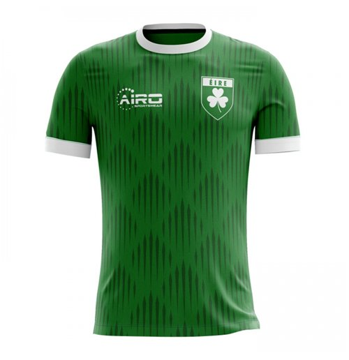2018-2019 Ireland Home Concept Football Shirt
