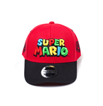 Nintendo - Super Mario Logo Curved Bill Cap