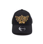 Zelda - Gold Logo Curved Bill Cap