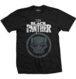 Marvel Comics Men's Tee: Black Panther Big Icon