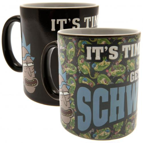 Rick And Morty Heat Changing Mug Schwifty