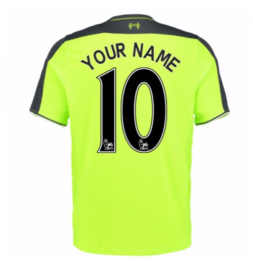brand new be421 cf3ec 2016-17 Liverpool 3rd Shirt (Your Name) -Kids