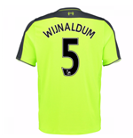 2016-17 Liverpool 3rd Shirt (Wijnaldum 5) - Kids