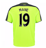 2016-17 Liverpool 3rd Shirt (Mane 19) - Kids
