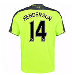 2016-17 Liverpool 3rd Shirt (Henderson 14) - Kids
