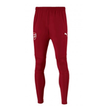 2017-2018 Arsenal Puma Fitted Training Pants with Pockets (Chilli Pepper)
