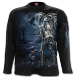 Raven Queen - Longsleeve T-Shirt Black