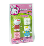 Unico Plus - Costructions - Hello Kitty - Blister 2 Characters