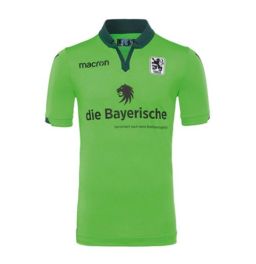 2017-2018 Munich 1860 Authentic Away Match Shirt
