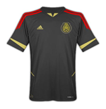 2011-12 Mexico Adidas Gold Cup Away Shirt