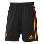 2018-2019 Belgium Adidas Training Shorts (Black)