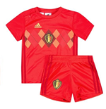 2018-2019 Belgium Home Adidas Baby Kit