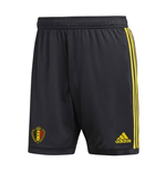 2018-2019 Belgium Home Adidas Goalkeeper Shorts (Black)