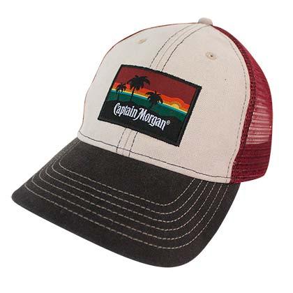 4573166938823 Buy Official Captain Morgan Beach Side Mesh Snapback Hat