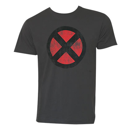 X-MEN Logo Grey Tee Shirt