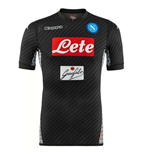 2017-2018 Napoli Kappa Authentic 4th Shirt
