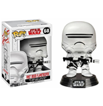 Star Wars Episode VIII POP! Vinyl Bobble-Head First Order Flametrooper 9 cm